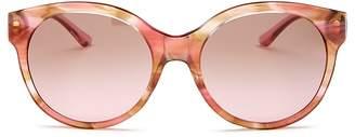 Tory Burch Women's Round Sunglasses, 55mm