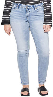 Silver Jeans Suki Super Skinny Whisker Jeans