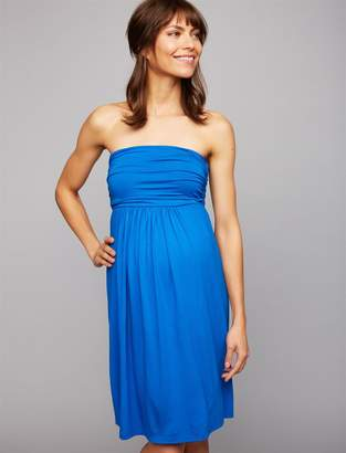 Isabella Oliver Delphine Strapless Maternity Dress