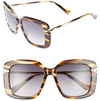 Derek Lam Anita 55mm Square Sunglasses