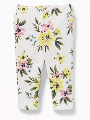 Old Navy Printed Ruffle-Back Jersey Leggings for Baby