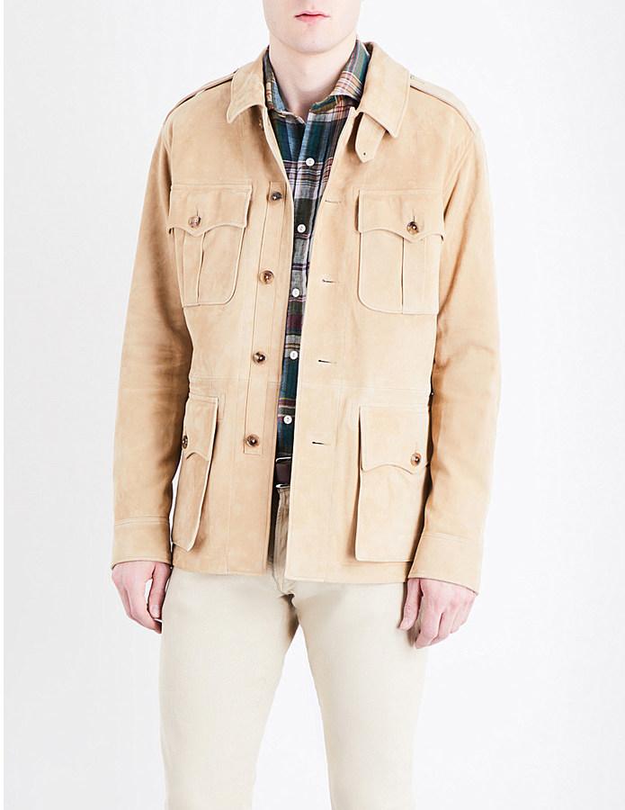 Polo Ralph LaurenPolo Ralph Lauren Suede safari jacket