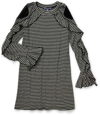 Truly Me Girls 7-16) Stripe Shift Dress