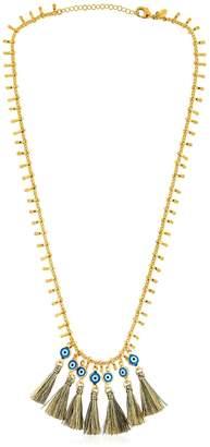 Evil Eye Tassel Necklace