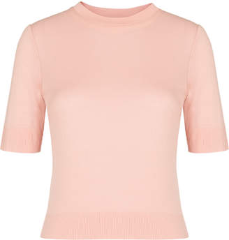 Whistles Rib Hem Slim T-shirt
