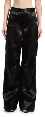 Off-White Oversized Tomboy Duchesse Trousers