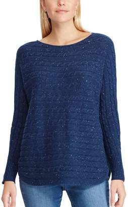 Chaps Women's Cable-Knit Dolman Sweater