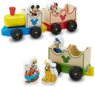 Melissa & Doug Disney Mickey Mouse & Friends All Aboard Wooden Train