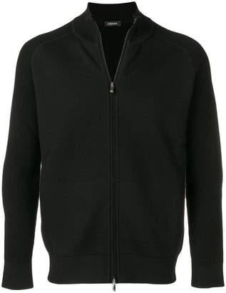 Ermenegildo Zegna zipped knit sweater