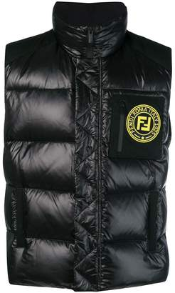 Fendi zipped padded jacket