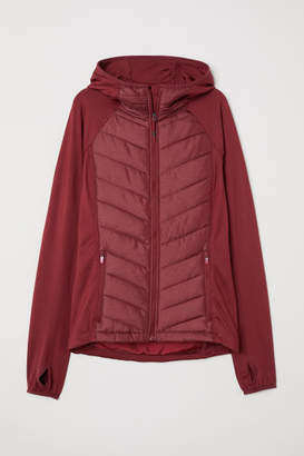 H&M Padded Outdoor Jacket - Red