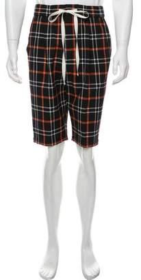 3.1 Phillip Lim Checkered Lightweight Shorts
