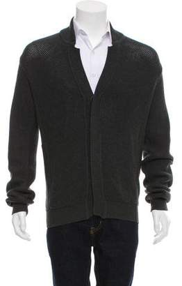 Calvin Klein Collection Cashmere-Blend Button-Up Cardigan