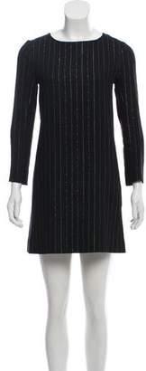 Chloé Silk Long Sleeve Dress