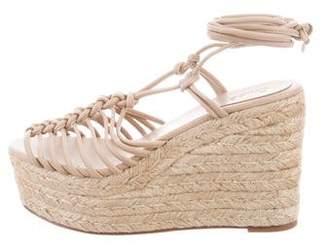 Chloé Lace-Up Platform Sandals