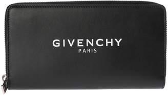 Givenchy Logo Zip Around Wallet