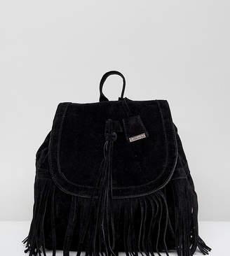 Glamorous Tassel Backpack In Black
