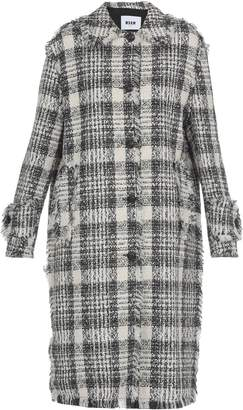 MSGM Check Patterned Coat