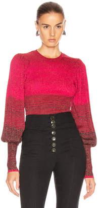 Ulla Johnson Dax Pullover Sweater in Fuchsia   FWRD