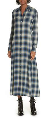 Polo Ralph Lauren Plaid Midi Shirtdress