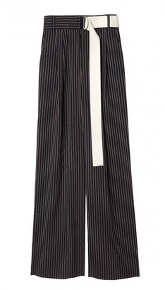 Cecil Stripe High Waisted Pants $495 thestylecure.com