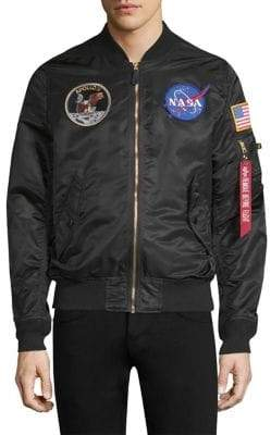 Alpha Industries Apollo Patch Bomber Jacket