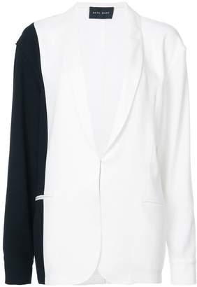 Baja East color block blazer