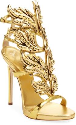 Giuseppe Zanotti Women's Leather High Heel Sandal