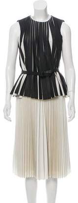 Proenza Schouler Pleated Wool Dress