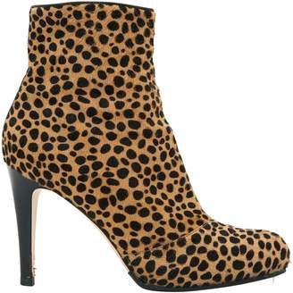 Gianvito Rossi Pony-style calfskin ankle boots