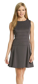 Jessica Simpson Pleated Dress with Drop Waist
