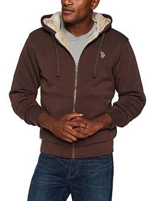 U.S. Polo Assn. Men's Fleece Sherpa Hoodie