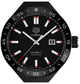 Tag Heuer Connected Modular 45 Carrera Calibre 5 Automatic Titanium Watch
