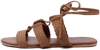 Mollini Sim Tan Sandals Womens Shoes Casual Sandals-flat Sandals