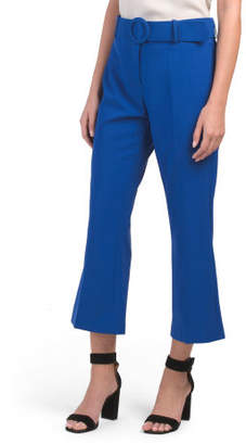 Made In Italy Tanner Cropped Pants