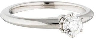 Tiffany & Co. Platinum Diamond Solitaire Ring $1,725 thestylecure.com