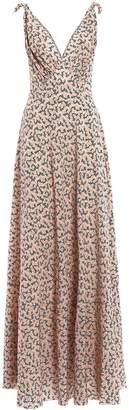 Prada Printed Maxi Dress