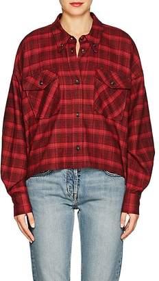 Etoile Isabel Marant Women's Delora Plaid Cotton Blouse