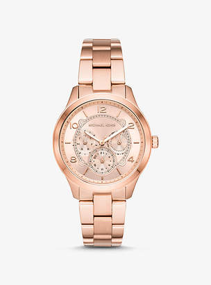 Michael Kors Runway Rose Gold-Tone Watch