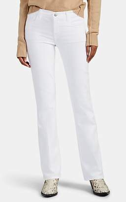 J Brand Women's Sallie Mid-Rise Boot-Cut Jeans - White