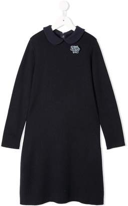 Familiar long-sleeve sweater dress