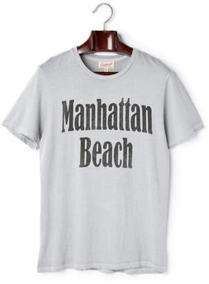 Junk Food Clothing (ジャンクフード) - JUNK FOOD Manhattan Beach プリント クルーネック 半袖Tシャツ シルバラード xs