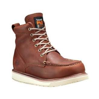 """Timberland Men's 53009 Wedge Sole 6"""" Soft-Toe Boot"""