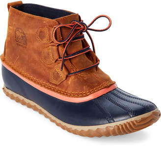 Sorel Caramel & Navy Out 'N About Waterproof Boots