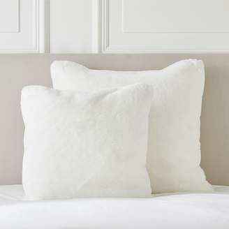The White Company Faux Fur Cushion Cover
