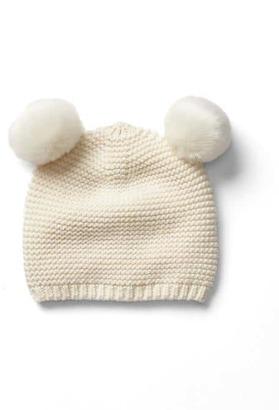 Knit pom-pom hat $19.95 thestylecure.com