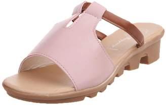 64f91cb0e PeepToe Elevin(TM) Women Summer Fashion Cut Out Peep-Toe Platform Slides  Slippers