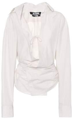 Jacquemus Linen-blend shirt