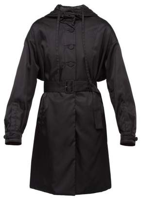 Prada Hooded Trench Coat