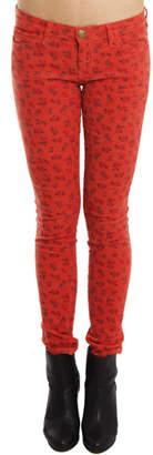 Current/Elliott Ankle Skinny Jean in Poppy Ditsy